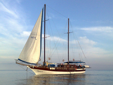 Caicco Ariva II Isole  Eolie